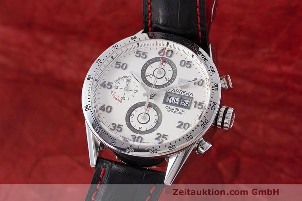 TAG HEUER CARRERA CALIBRE 16 DAY DATE CHRONOGRAPH HERRENUHR CV2A11 NP: 4650,- Euro [162702]
