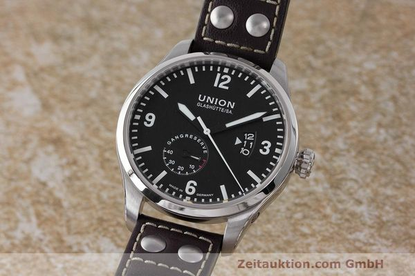 UNION GLASHÜTTE TRADITION FLIEGER ACCIAIO AUTOMATISMO KAL. U2897 ETA 2897 LP: 2250EUR [162712]