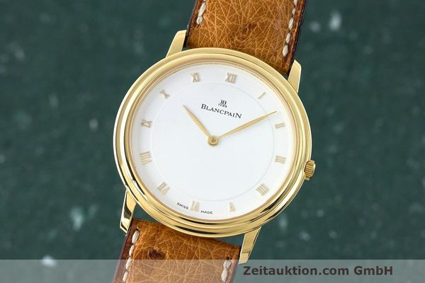 BLANCPAIN VILLERET 18 CT GOLD MANUAL WINDING KAL. 21 LP: 10910EUR  [162716]