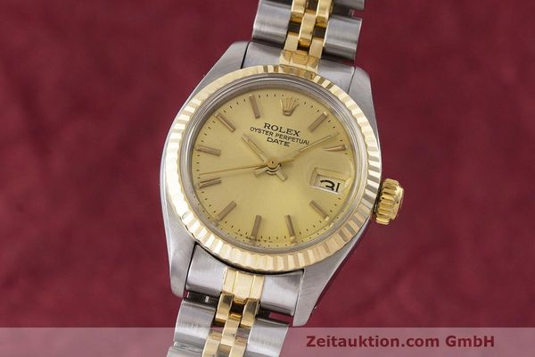 ROLEX LADY DATE STEEL / GOLD AUTOMATIC KAL. 2030 LP: 7950EUR [162717]