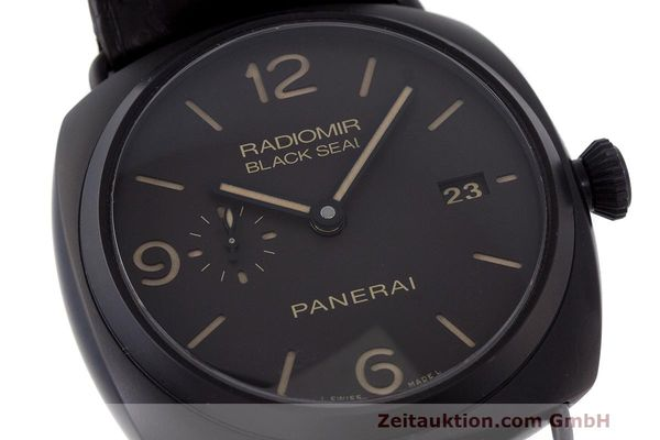Used luxury watch Panerai Black Seal ceramic automatic Kal. P9000 Ref. OP6915 / PAM00505  | 162732 02