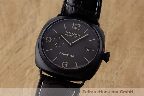 Used luxury watch Panerai Black Seal ceramic automatic Kal. P9000 Ref. OP6915 / PAM00505  | 162732 04