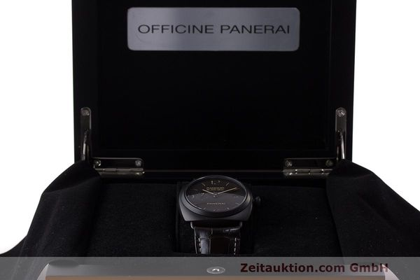 Used luxury watch Panerai Black Seal ceramic automatic Kal. P9000 Ref. OP6915 / PAM00505  | 162732 07