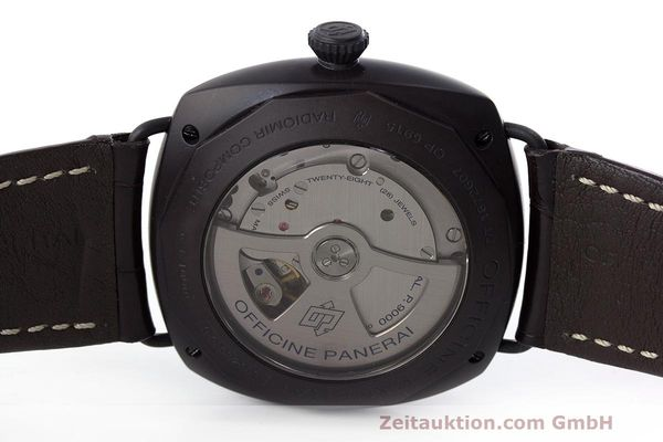 Used luxury watch Panerai Black Seal ceramic automatic Kal. P9000 Ref. OP6915 / PAM00505  | 162732 09