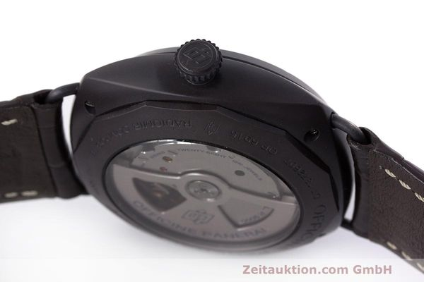 Used luxury watch Panerai Black Seal ceramic automatic Kal. P9000 Ref. OP6915 / PAM00505  | 162732 11