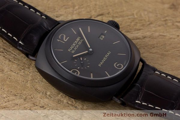Used luxury watch Panerai Black Seal ceramic automatic Kal. P9000 Ref. OP6915 / PAM00505  | 162732 16