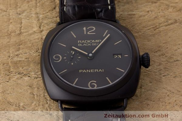 Used luxury watch Panerai Black Seal ceramic automatic Kal. P9000 Ref. OP6915 / PAM00505  | 162732 17