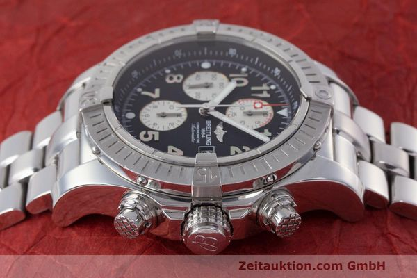 Used luxury watch Breitling Avenger chronograph steel automatic Kal. B13 ETA 7750 Ref. A13370  | 162738 06
