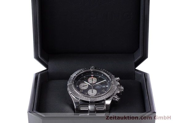 Used luxury watch Breitling Avenger chronograph steel automatic Kal. B13 ETA 7750 Ref. A13370  | 162738 08