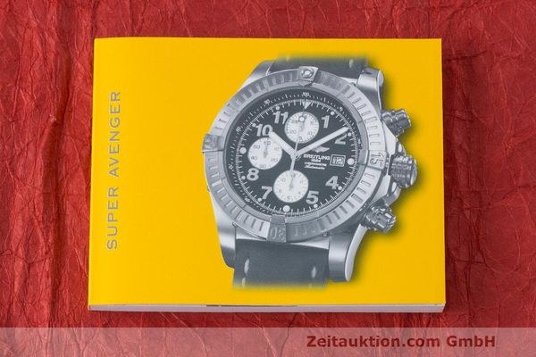 Used luxury watch Breitling Avenger chronograph steel automatic Kal. B13 ETA 7750 Ref. A13370  | 162738 13
