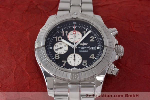 Used luxury watch Breitling Avenger chronograph steel automatic Kal. B13 ETA 7750 Ref. A13370  | 162738 18