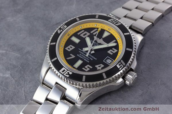 Used luxury watch Breitling Superocean steel automatic Kal. B17 ETA 2824-2 Ref. A17364  | 162765 01