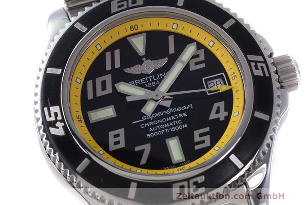 Used luxury watch Breitling Superocean steel automatic Kal. B17 ETA 2824-2 Ref. A17364  | 162765 02