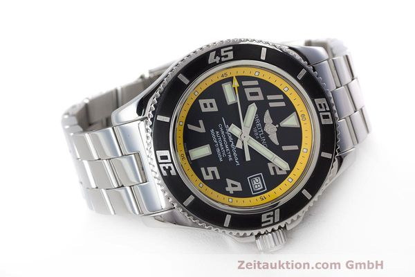 Used luxury watch Breitling Superocean steel automatic Kal. B17 ETA 2824-2 Ref. A17364  | 162765 03