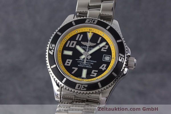 Used luxury watch Breitling Superocean steel automatic Kal. B17 ETA 2824-2 Ref. A17364  | 162765 04