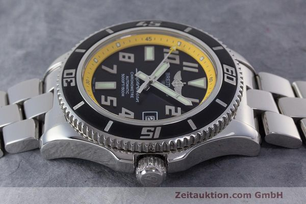 Used luxury watch Breitling Superocean steel automatic Kal. B17 ETA 2824-2 Ref. A17364  | 162765 05