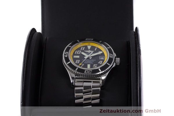 Used luxury watch Breitling Superocean steel automatic Kal. B17 ETA 2824-2 Ref. A17364  | 162765 07