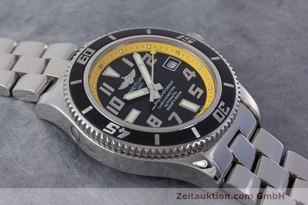 Used luxury watch Breitling Superocean steel automatic Kal. B17 ETA 2824-2 Ref. A17364  | 162765 14