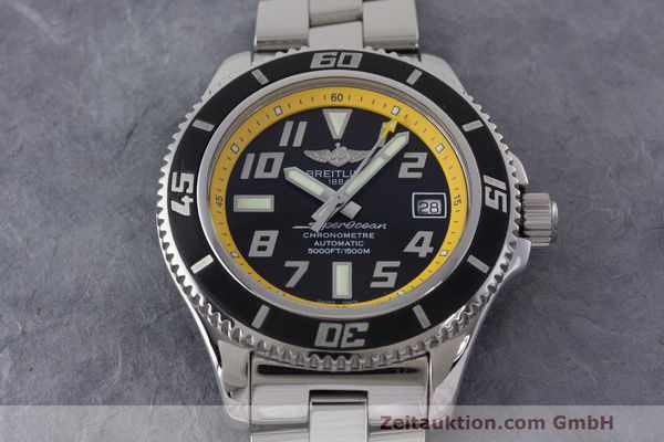 Used luxury watch Breitling Superocean steel automatic Kal. B17 ETA 2824-2 Ref. A17364  | 162765 15