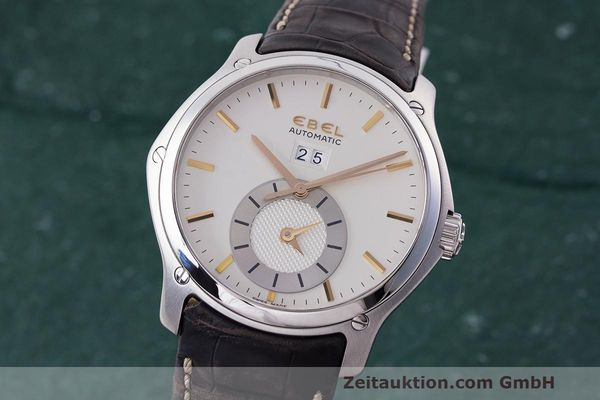 EBEL CLASSIC HEXAGON STEEL AUTOMATIC KAL. E301 ETA 2892A2 LP: 3600EUR [162769]