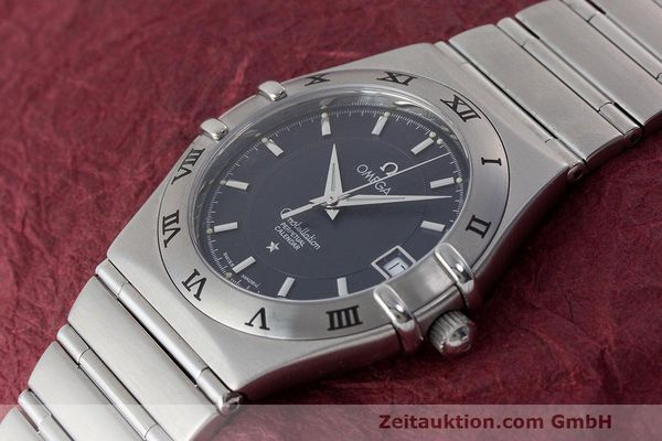 二手奢侈品腕表 Omega Constellation 钢质 石英机芯 Kal. 1680 ETA 252.411 Ref. 396.1204  | 162781 01