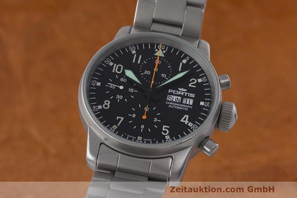 FORTIS FLIEGER CHRONOGRAPH CHRONOGRAPH STEEL AUTOMATIC KAL. ETA 7750 [162782]