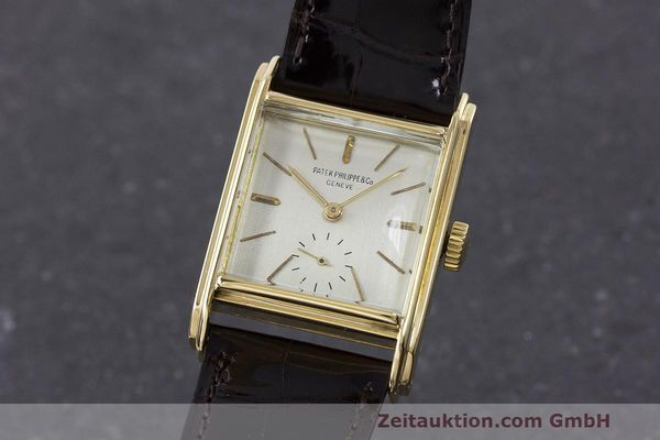 PATEK PHILIPPE 18 CT GOLD MANUAL WINDING KAL. 10-200 LP: 15980EUR VINTAGE [162788]