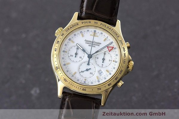 JAEGER LE COULTRE HERAION CHRONOGRAPH 18 CT GOLD QUARTZ KAL. 633 LP: 22100EUR [162790]