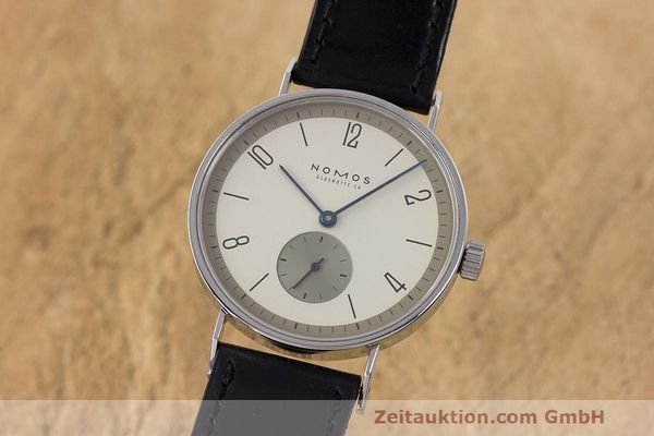 NOMOS TANGENTE STEEL MANUAL WINDING KAL. ETA 7001 LP: 1380EUR [162792]