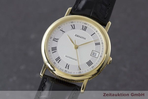 ZENITH OR 18 CT AUTOMATIQUE KAL. ETA 2892A2 LP: 7400EUR [162796]