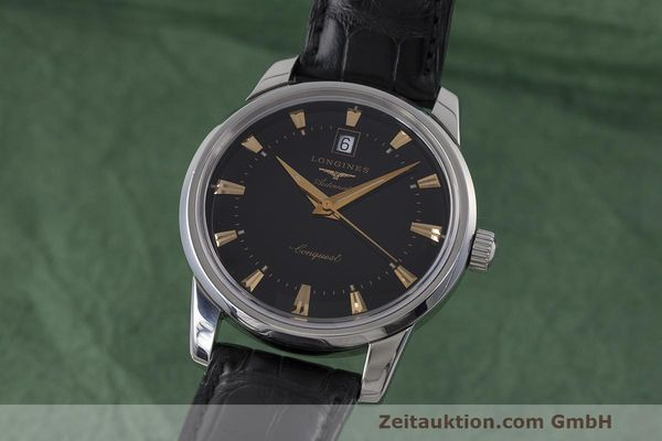 LONGINES CONQUEST ACIER AUTOMATIQUE KAL. L633.5 ETA 2824-2 LP: 1710EUR [162802]