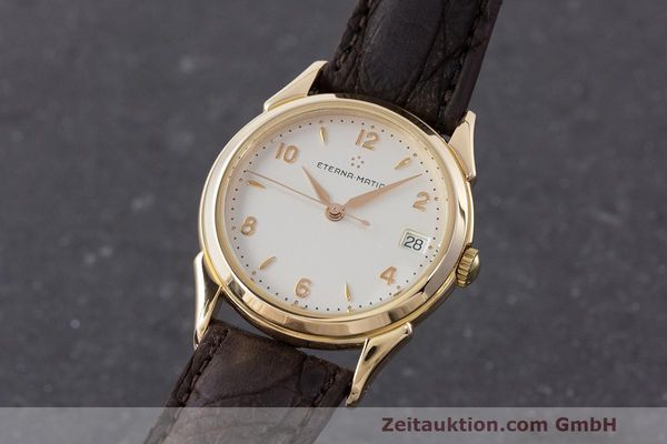 ETERNA OR 18 CT AUTOMATIQUE KAL. ETA 2892A2 LP: 6600EUR [162815]