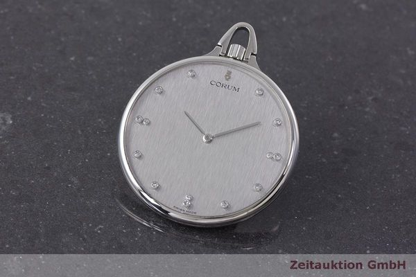 CORUM POCKET WATCH PLATINIUM MANUAL WINDING [162828]