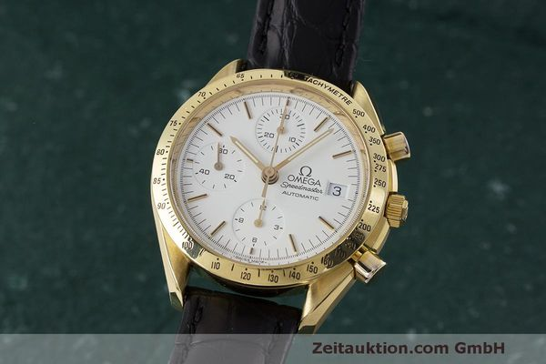 OMEGA SPEEDMASTER CHRONOGRAPHE OR 18 CT AUTOMATIQUE KAL. 1155 LP: 14200EUR [162834]
