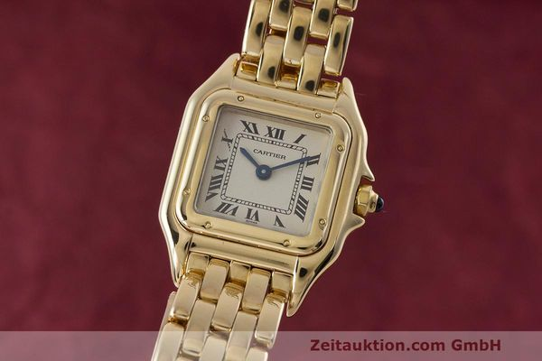CARTIER PANTHERE ORO 18 CT QUARZO KAL. 057.06 [162836]