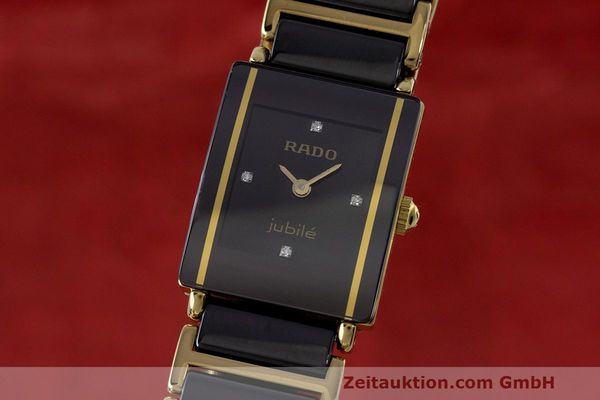 RADO LADY JUBILE CERAMICS DAMENUHR DIAMANTEN REF 153.0283.3N VP: 1525,- EURO [162841]