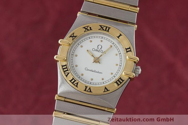 OMEGA LADY CONSTELLATION GOLD / STAHL DAMENUHR 795.1080 VP: 3960,- EURO [162846]