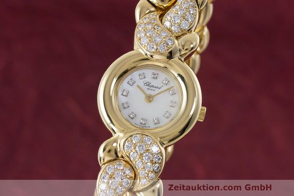 CHOPARD CASMIR 18 CT GOLD QUARTZ KAL. ETA 976.001 LP: 24230EUR [162853]