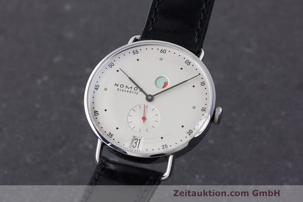 NOMOS METRO STEEL MANUAL WINDING KAL. DUW 4401 LP: 2880EUR [162857]