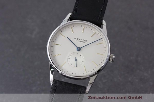 NOMOS ORION STEEL MANUAL WINDING KAL. ALPHA LP: 1740EUR [162858]