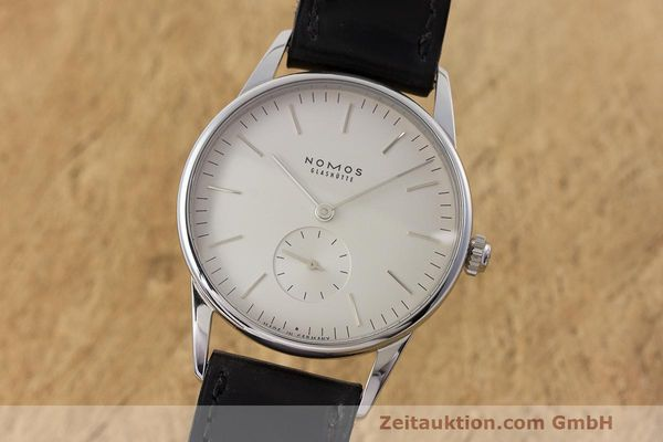 NOMOS ORION STEEL MANUAL WINDING KAL. ALPHA LP: 1780EUR [162859]