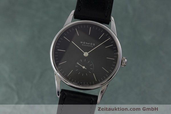 NOMOS ORION STEEL MANUAL WINDING KAL. ALPHA LP: 1780EUR [162860]
