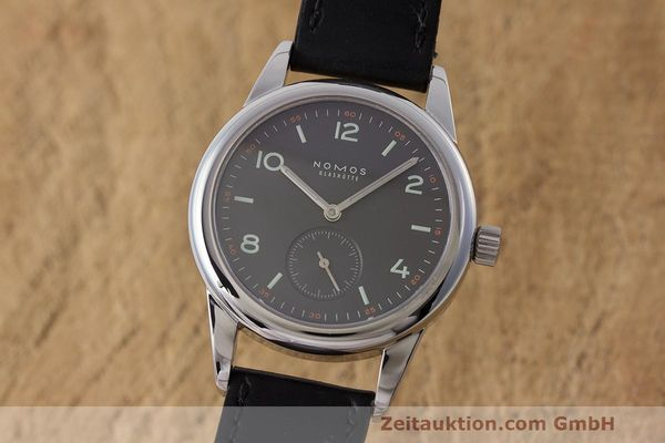NOMOS CLUB STEEL MANUAL WINDING KAL. ALPHA LP: 1340EUR [162864]
