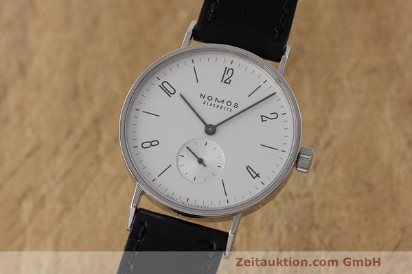 NOMOS TANGENTE STEEL MANUAL WINDING KAL. ETA 7001 LP: 1380EUR [162871]