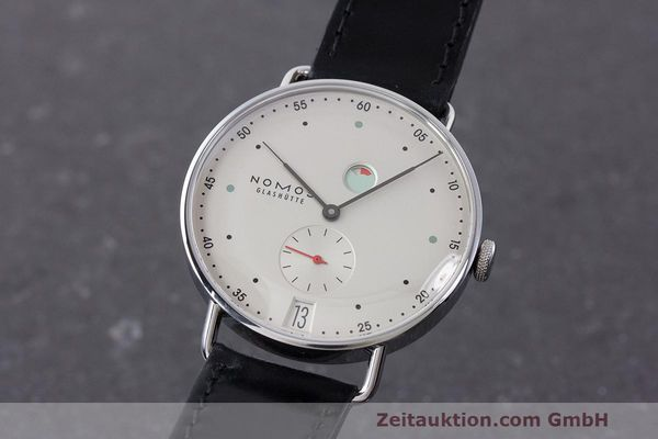 NOMOS METRO STEEL MANUAL WINDING KAL. DUW4401 LP: 2880EUR [162875]