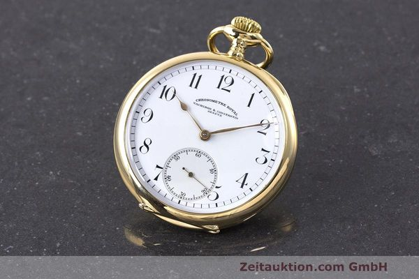 VACHERON & CONSTANTIN POCKET WATCH 18 CT GOLD MANUAL WINDING VINTAGE [162885]