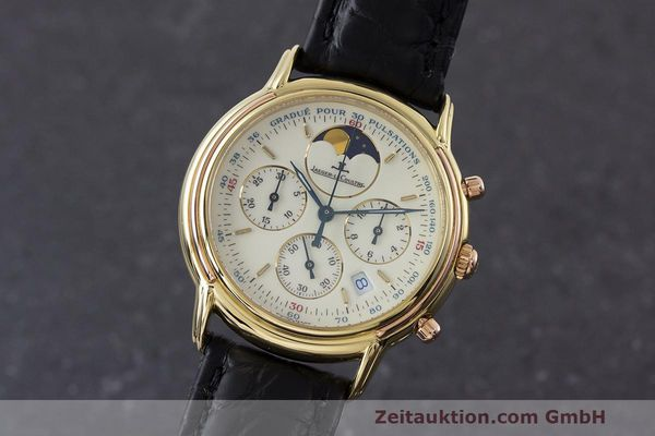 JAEGER LE COULTRE ODYSSEUS CHRONOGRAPH 18 CT GOLD QUARTZ KAL. 630 [162886]