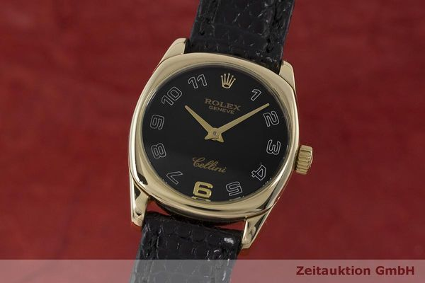 ROLEX LADY CELLINI DANAOS 18K (0,750) GOLD DAMENUHR REF. 6229 VP: 8200,- Euro [162913]
