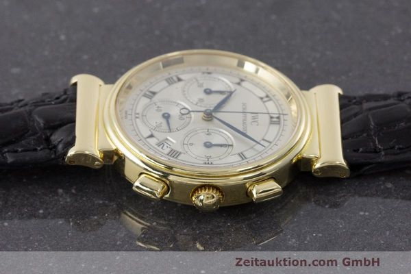 IWC DA VINCI CHRONOGRAPH 18 CT GOLD QUARTZ KAL. 630 LP: 15200EUR  [162915]