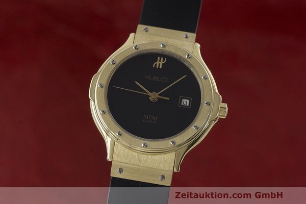 HUBLOT MDM OR 18 CT QUARTZ KAL. ETA 956112 LP: 14400EUR [162921]